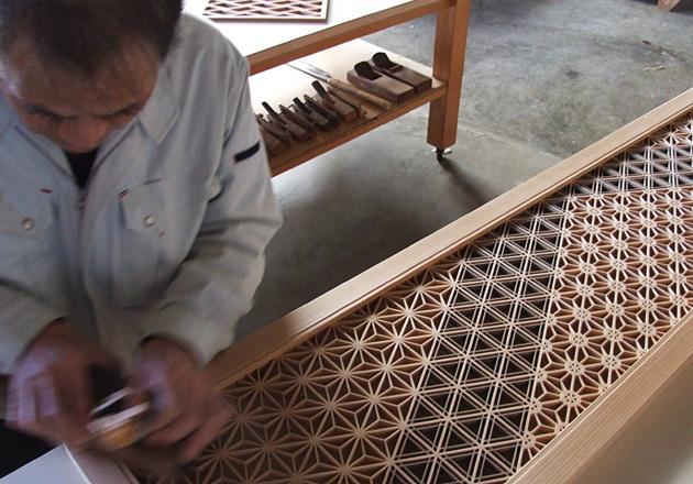 組子 タニハタ 製造業 モノづくり 匠 欄間