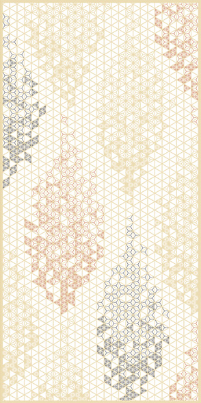 AC-101-TA 麻の葉ちらし 木かげ タニハタ 組子