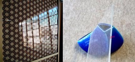 アクリル板 オプション 組子 引き戸 タニハタ