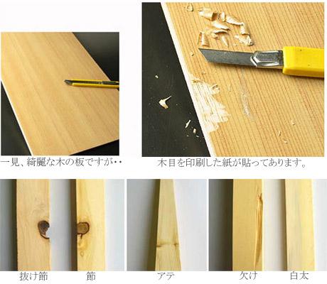 天然木材と人工木材の違い