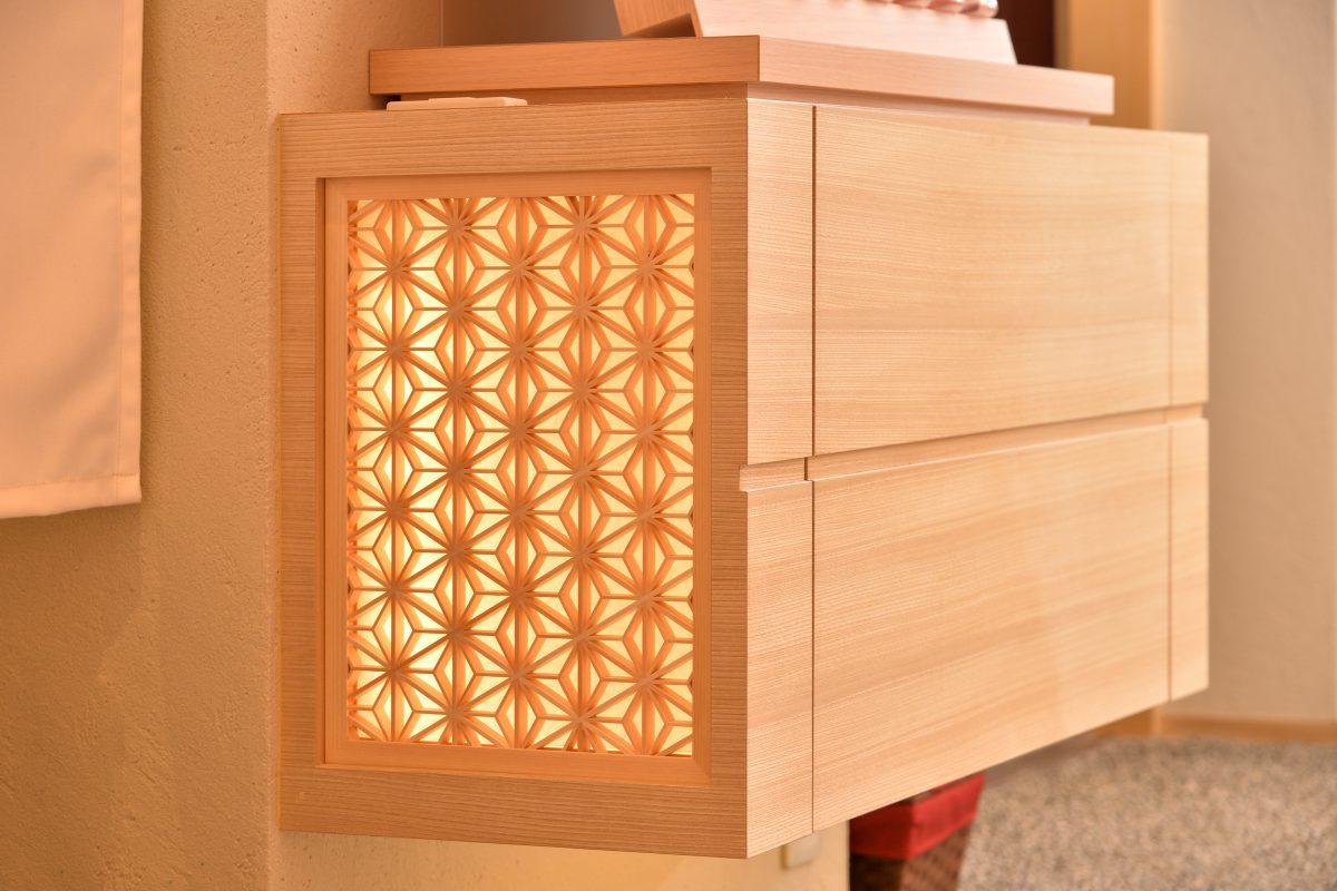 家具部材 麻の葉 タニハタ 組子