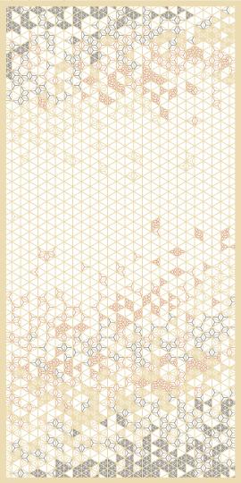 組子 麻の葉ちらし 花かすみ