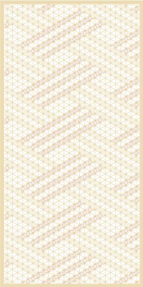 麻の葉ちらし 網代くずし タニハタ AC-110-TC 組子 装飾
