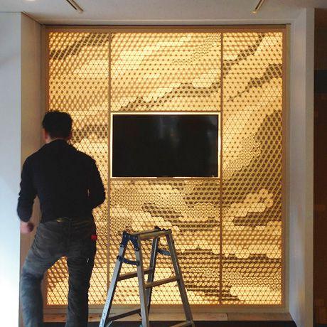 タニハタ東京・新宿ギャラリー 照明の設置例