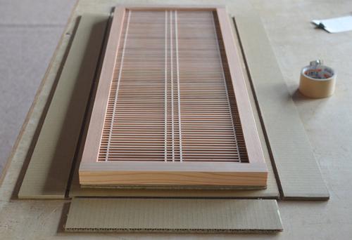 組子製品 梱包方法 タニハタ