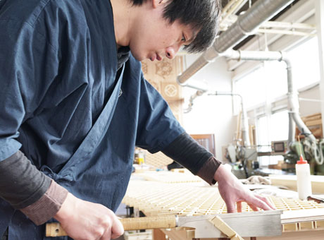 木の加工方法 組子切削