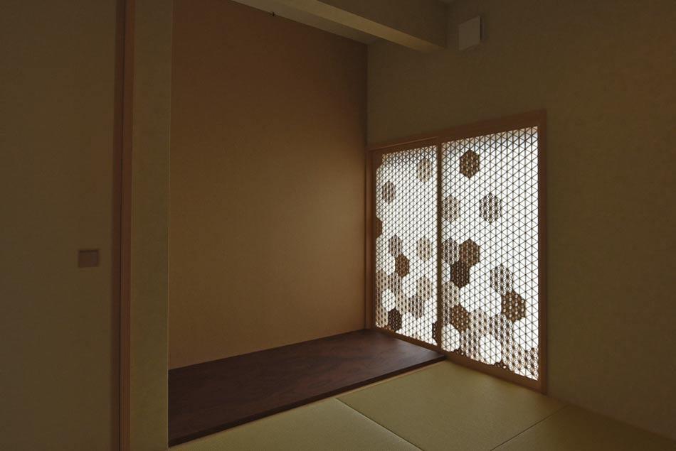 組子 麻の葉ちらし タニハタ 住宅