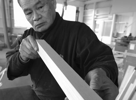 Craftsmen kumiko