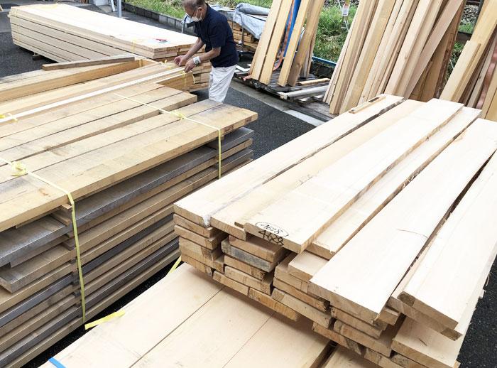 組子細工用木材 タニハタ ヒノキ材