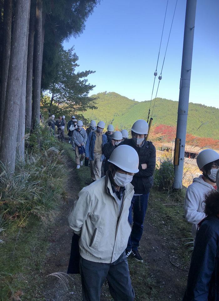 タニハタ社員旅行 職人 ものづくり見学