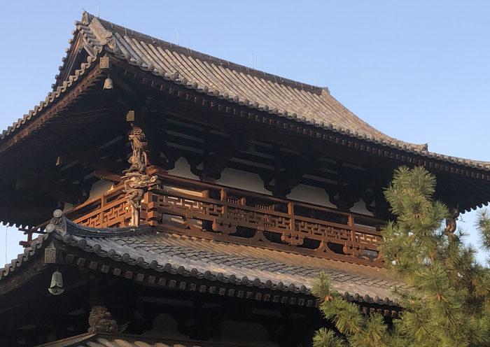 法隆寺見学 タニハタ 組子職人