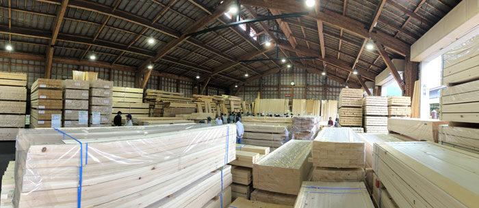 組子木材仕入 タニハタ