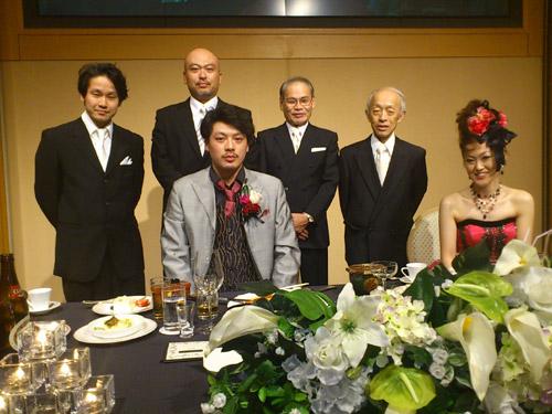 組子職人の結婚式