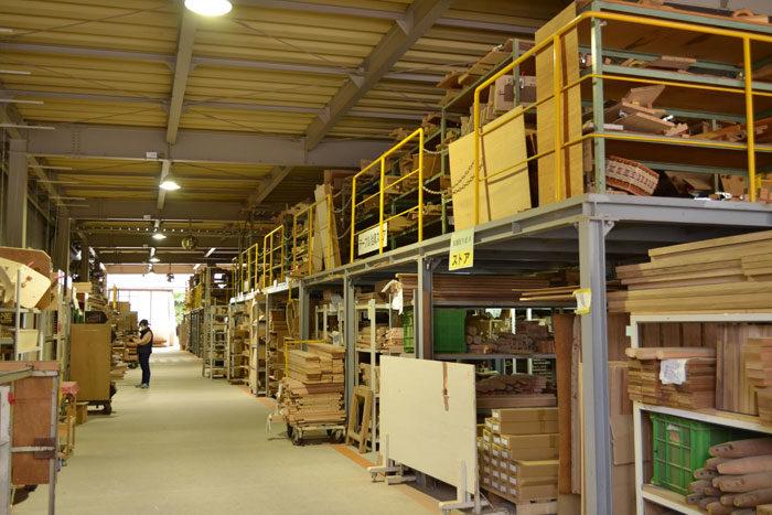 飛騨の家具フェスティバル見学 飛騨産業工場