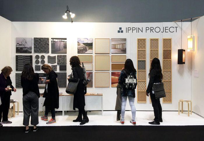 ニューヨーク国際現代家具見本市(ICFF)にて組子が展示