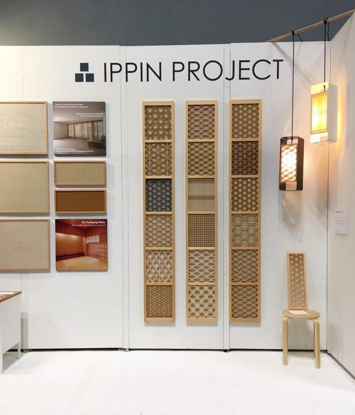 ニューヨーク国際現代家具見本市(ICFF)にて各種組子が展示