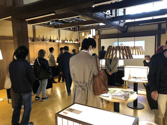 飛騨の家具フェスティバル見学 タニハタ職人