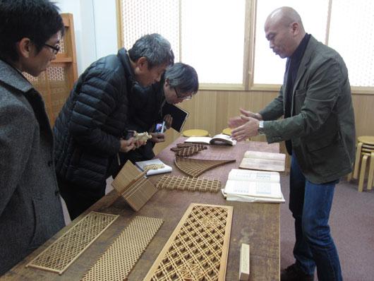 ワークショップ 組子製作体験 タニハタ工場見学