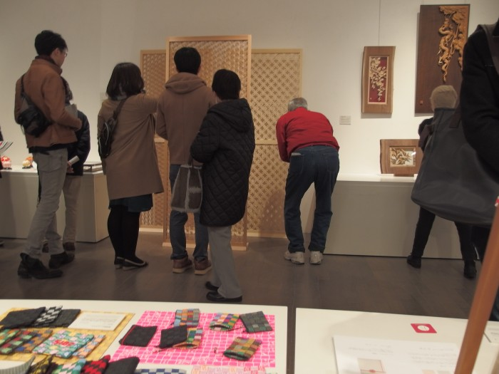 金沢21世紀美術館に<組子引き戸 組子障子>を展示