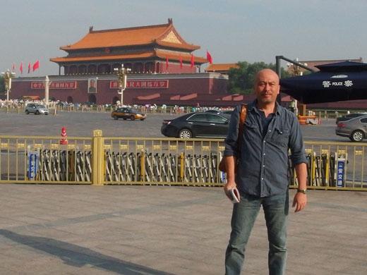 中国・北京で組子のルーツを探る 谷端信夫