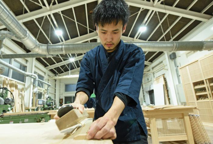 富山のものづくり 組子職人