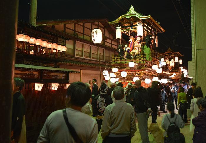 「城端曳山祭」富山県