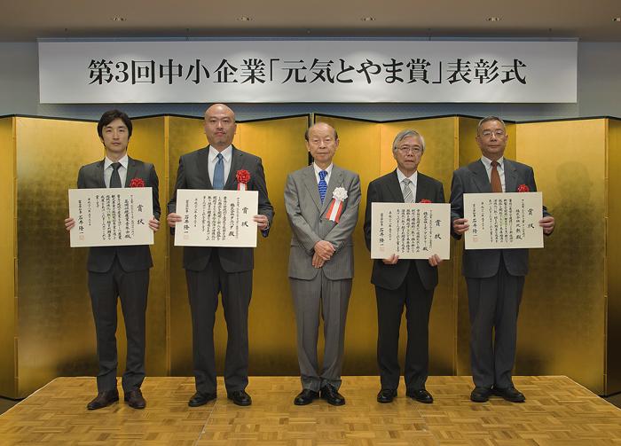 富山県知事 タニハタ
