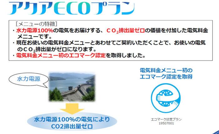 水力発電プラン 温室効果ガス削減 持続可能社会