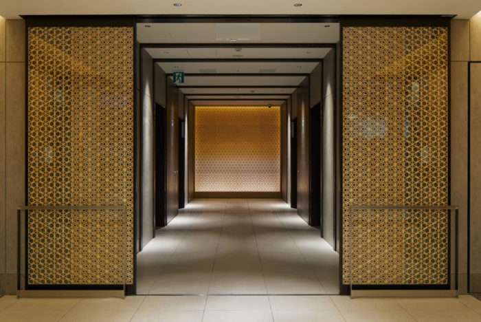 Hotel Hankyu RESPIRE OSAKA 組子