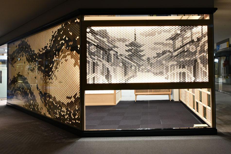 京都 町や 組子 風景