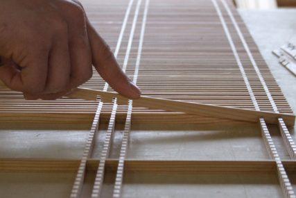木製建具 職人 衝立 組子欄間 株式会社タニハタ 富山