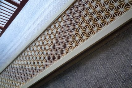 木製建具 職人 欄間 組子欄間 株式会社タニハタ 富山