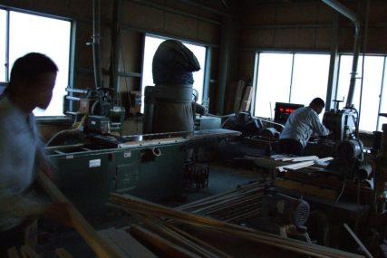 木製建具 職人 工場 組子欄間 株式会社タニハタ 富山