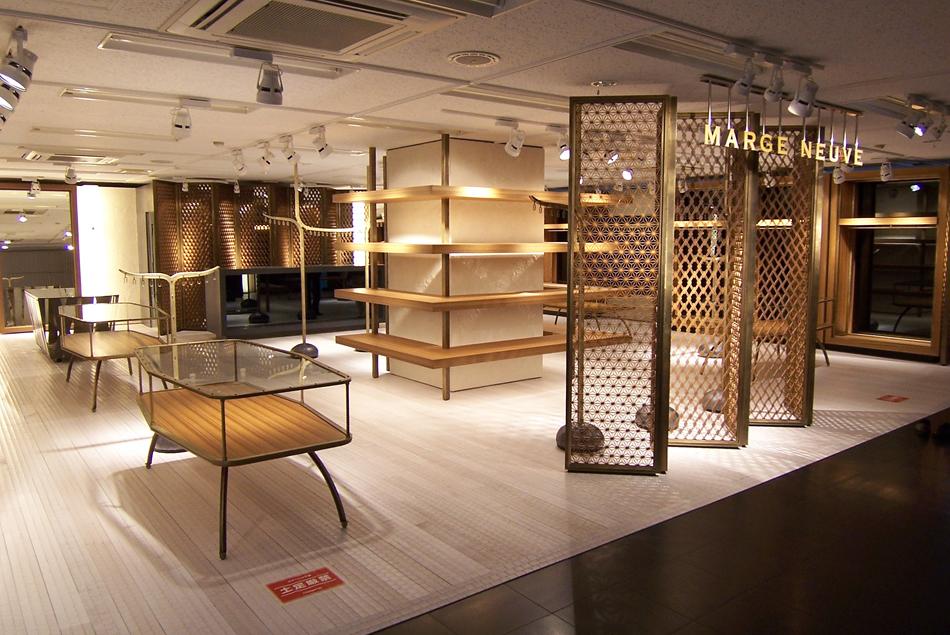木製建具 店舗 shop ファッション 組子欄間 株式会社タニハタ