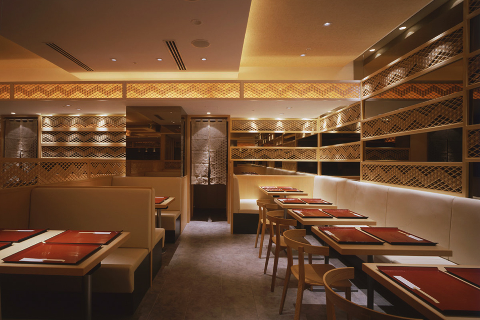 木製建具 店舗 shop レストラン 組子欄間 株式会社タニハタ