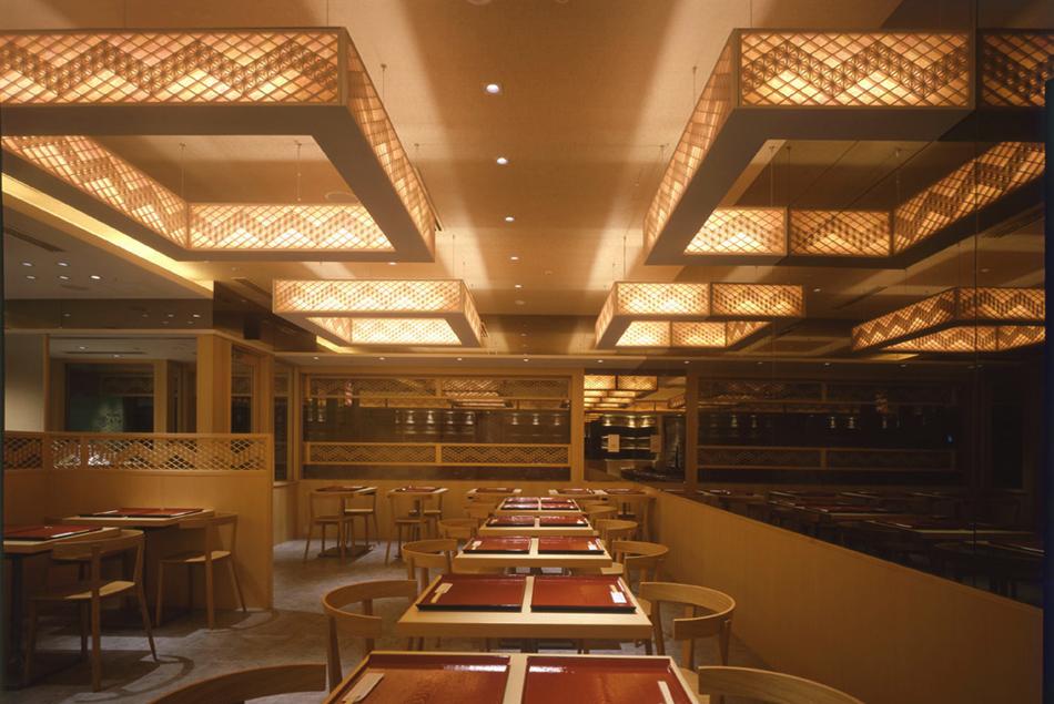 木製建具 店舗 shop レストラン スクリーン 組子欄間 株式会社タニハタ