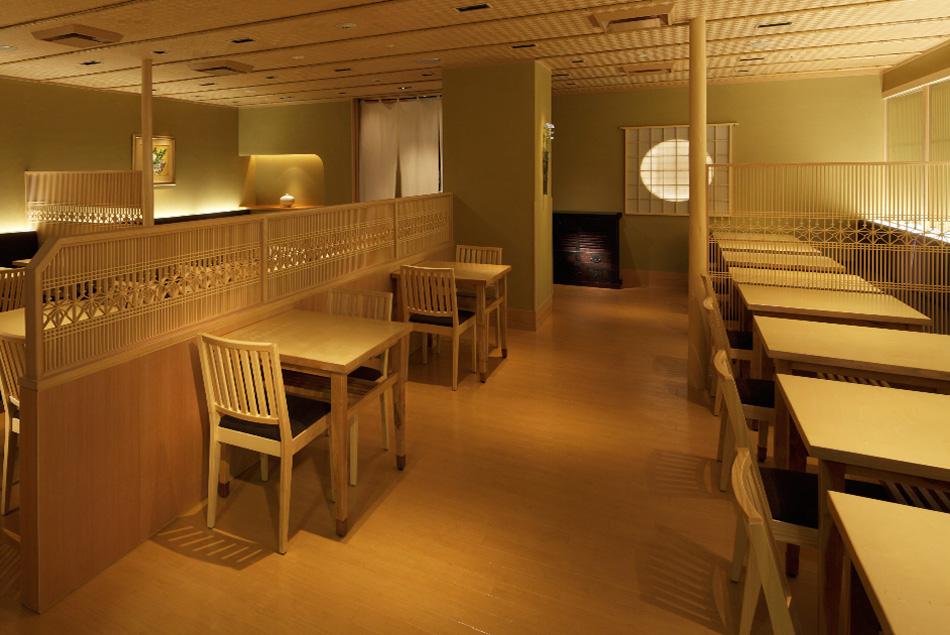建具 店舗 shop レストラン 組子欄間 株式会社タニハタ