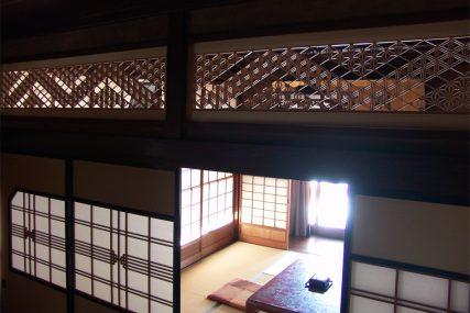 木製建具 住宅 市松 組子欄間 株式会社タニハタ 富山