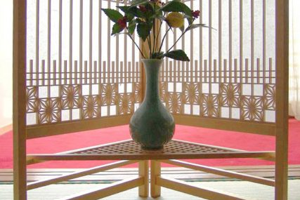 木製建具 住宅 書院衝立 組子欄間 株式会社タニハタ 富山