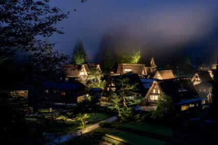 五箇山の夜